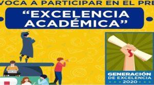 Beca Premio De Excelencia Académica